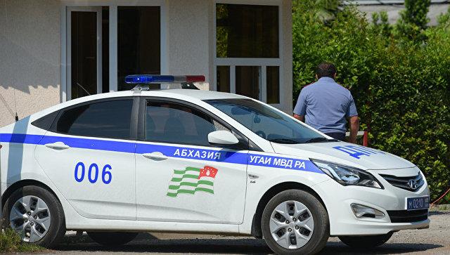 Автомобиль МВД Абхазии. Архивное фото