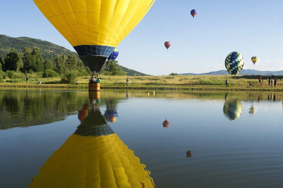 Фестиваль воздушных шаров в Колорадо-Спрингс, США