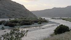 Река Пяндж. Архивное фото