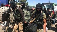 Боевики в городе Хомс