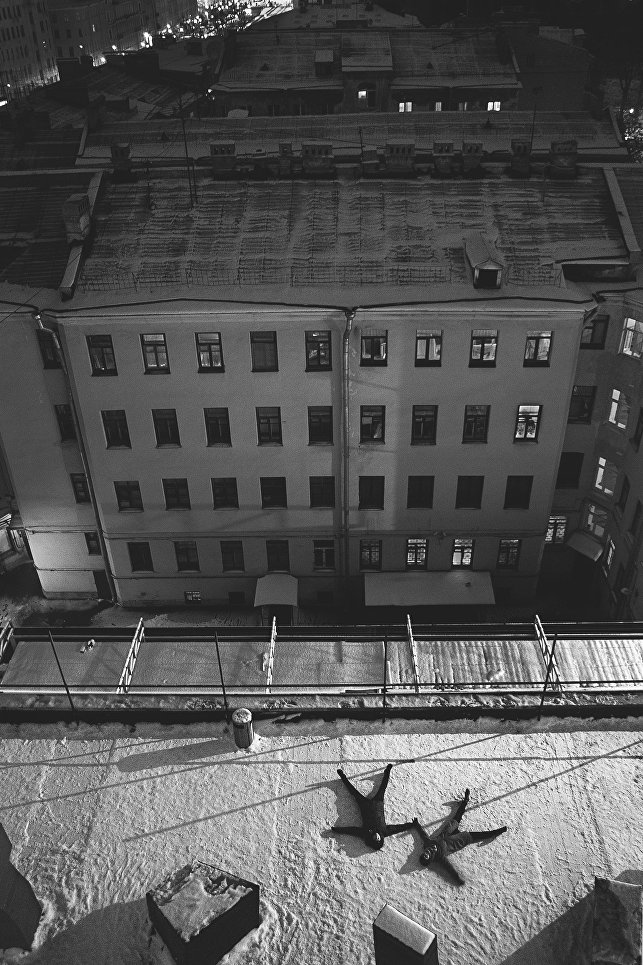 Работа фотографа Омара Шакшак На последнем этаже, занявшая первое место в категории Люди. Любители на ежегодном фотоконкурсе компании Nikon Я | В СЕРДЦЕ ИЗОБРАЖЕНИЯ