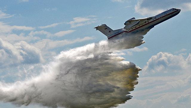 Российский самолёт-амфибия БЕ-200. Архивное фото