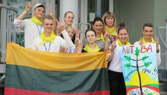 Спикера Сейма возмутило участие литовских школьников влетнем лагере в Российской Федерации