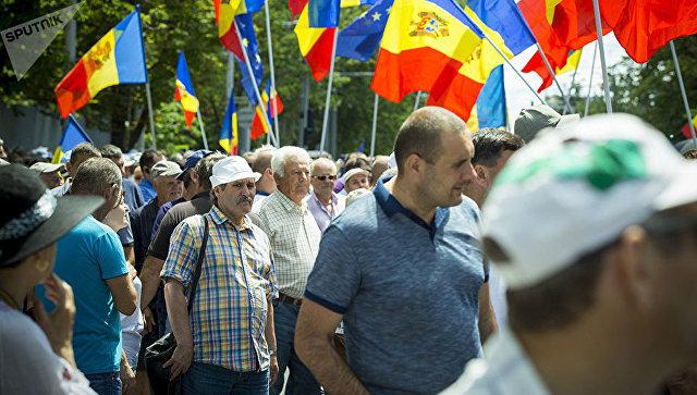 ВМолдове проходят массовые протесты против изменения избирательной системы