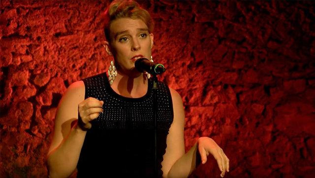 Французская певица Барбара Велденс. Архивное фото