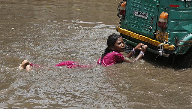 Сезон дождей в Индии. Архивное фото