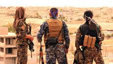 Бойцы СДС в Табке, Сирия. Архивное фото