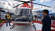 Легкий многоцелевой вертолет Ансат на МАКС-2017