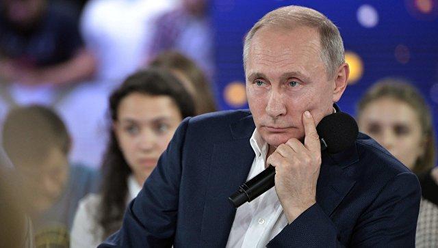 Путин: мечта у человека может меняться со временем, главное, чтобы она была