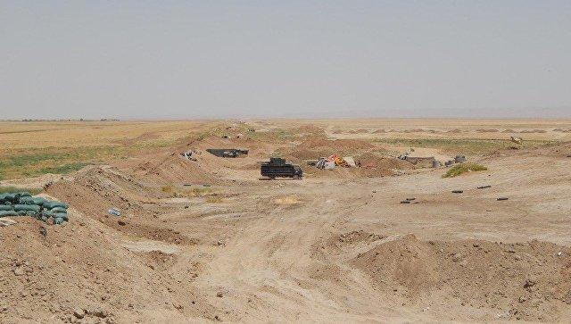 Освобождение поселка Имам Гарби на юге Мосула. Архивное фото