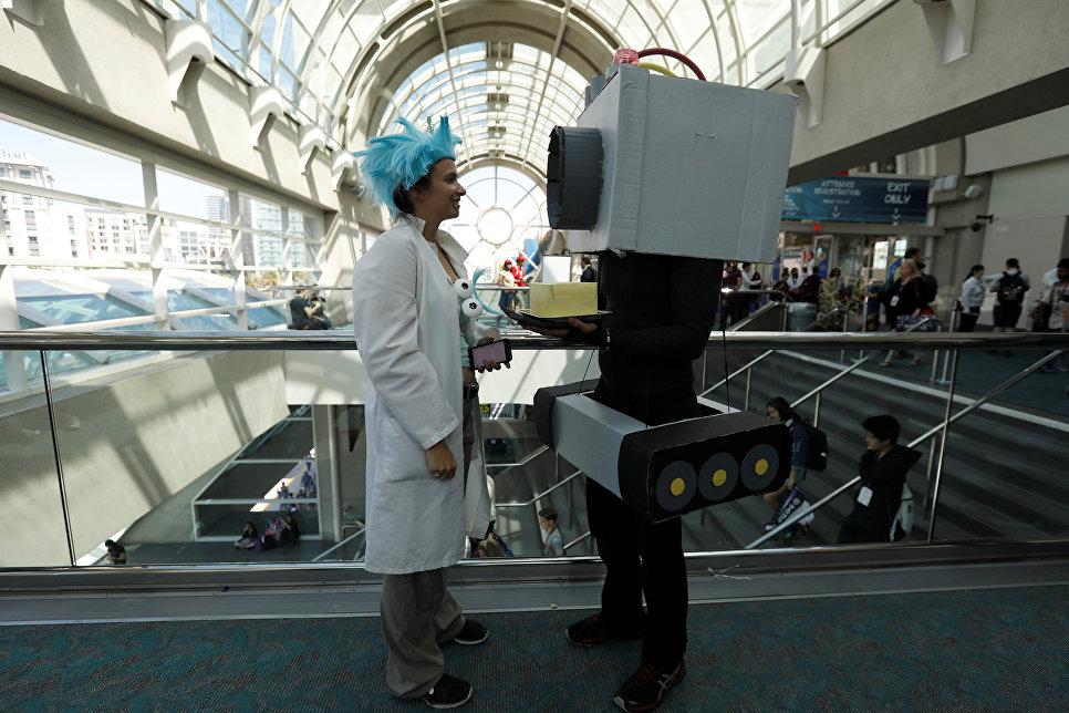 Международный фестиваль Comic-Con в Сан-Диего