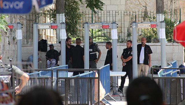 Израиль решил убрать металлоискатели у Храмовой горы