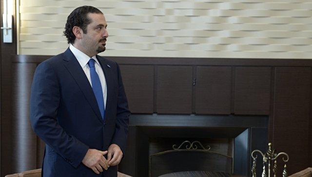 Харири сообщил президенту Ливана, что в среду приедет в страну