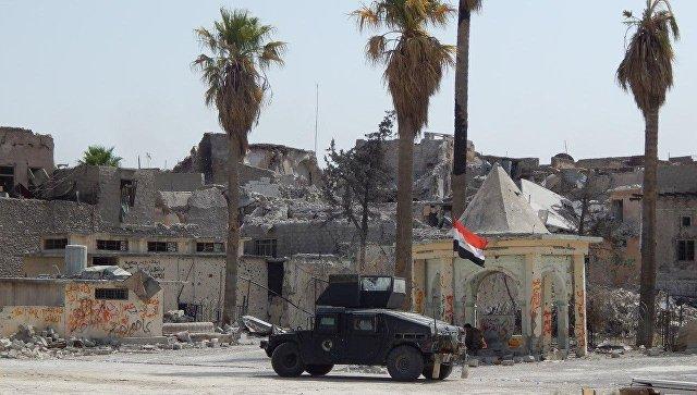 Войска Ирака вошли взанятыйИГ город Аль-Каим