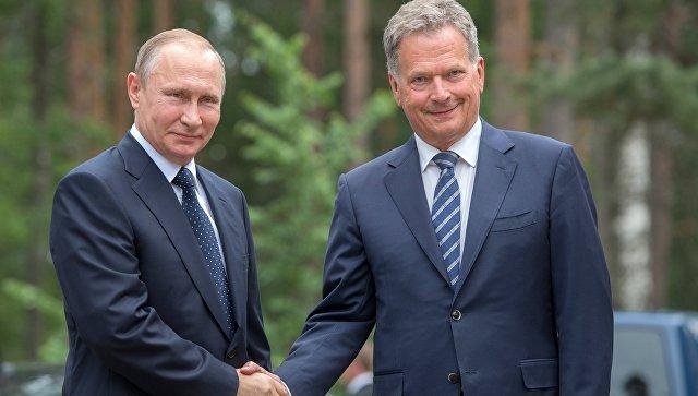 Путин заявил, что обменялся с Ниинисте мнениями о внутриукраинском кризисе