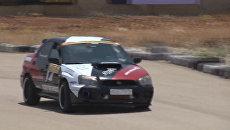 Гонщики соревновались на трассе Ралли Сирия после длительного перерыва