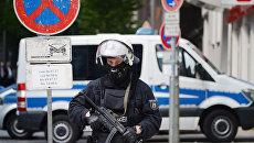 Полицейский в Гамбурге