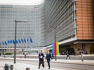 Здание Еврокомисии. Архивное фото