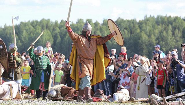 Исторический фестиваль Сугорье. Архивное фото