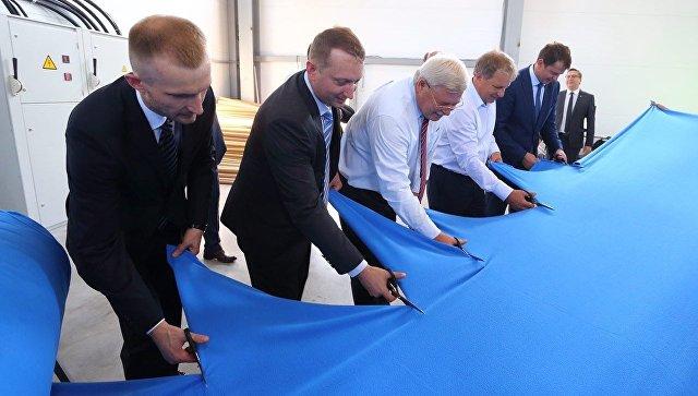 Швейная фабрика Царина в Томской области ввела в строй новый цех по производству трикотажного ворсового полотна