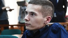 Антон Мамаев в Московском городском суде. 3 августа 2017