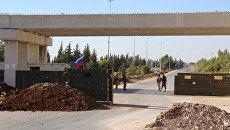 Открытие трассы Хомс-Хама в Сирии. Архивное фото