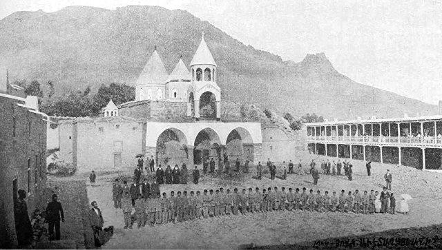 Монастырский комплекс Варагаван в Турции