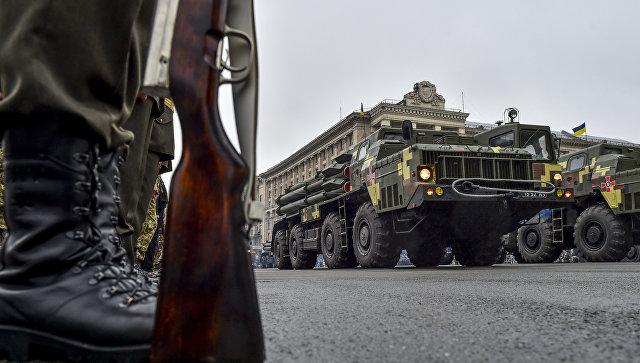 Военная техника на параде в Киеве. Архивное фото