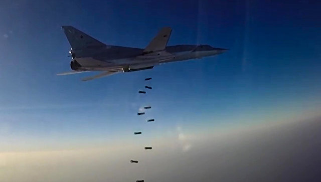 Дальний бомбардировщик ВКС РФ. Архивное фото
