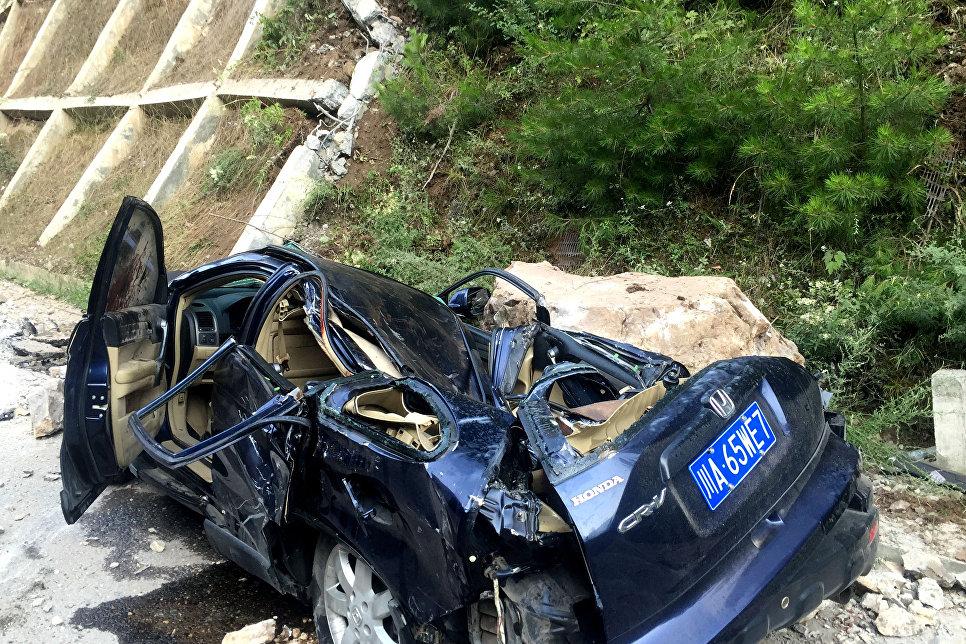 Последствия землетрясения в провинции Сычуань, Китай