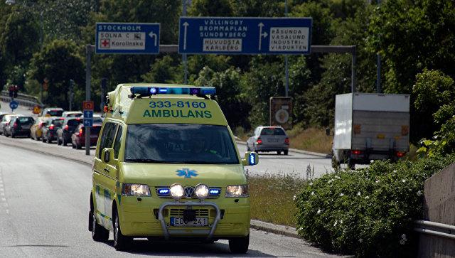 В Швеции у полицейского участка прогремел мощный взрыв