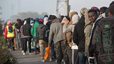 Беженцы во Франции. Архивное фото