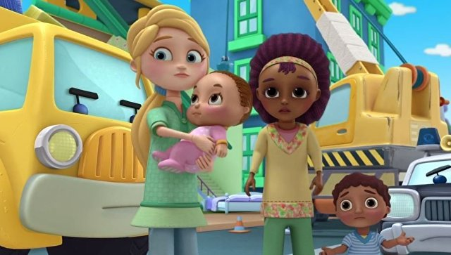 Кадр из мультипликационного шоу для детей DocMcStuffins, серия План на случай чрезвычайных обстоятельств (The Emergency Plan)