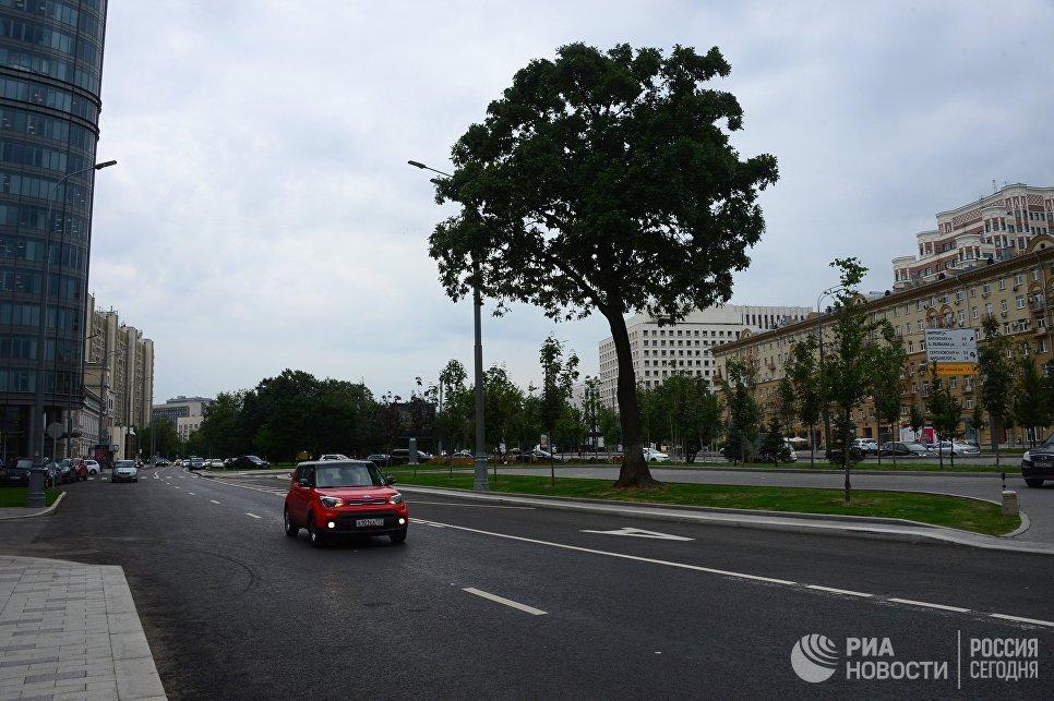 Улица Коровий вал в Москве