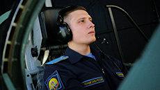 Занятия по летной подготовке в Краснодарском высшем военном авиационном училище лётчиков