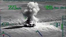 Высадка тактического десанта и захват населенного пункта Эль-Кдер провинции Дейр-Эз-Зор (стоп-кадр с видео)