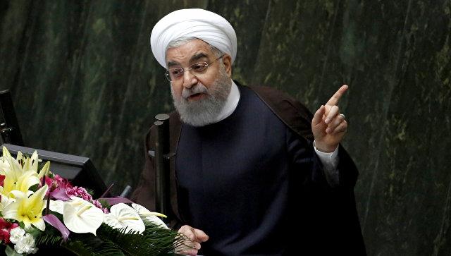 Роухани обвинил Саудовскую Аравию в поддержке террористов в Йемене и Сирии