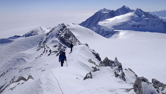 Массив Винсон в Антарктиде. Архивное фото