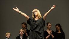 Актриса, режиссер Вера Глаголева. Архивное фото