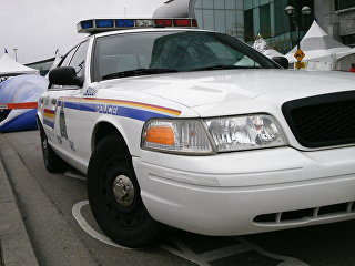 Канадская полицейская машина. Архивное фото