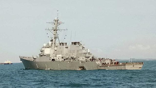 ВМС США приостановят операции по всему миру из-за инцидента с эсминцем