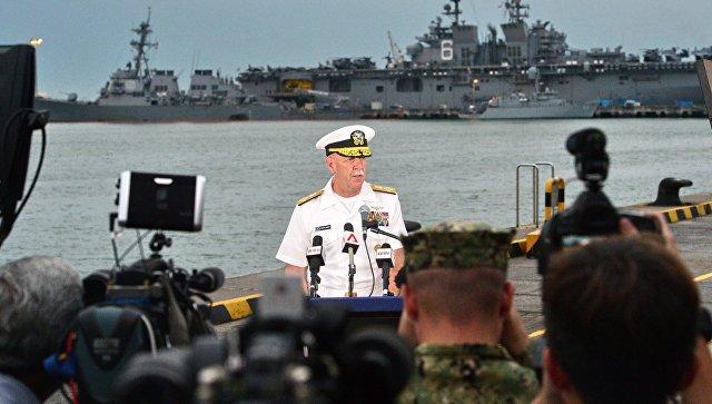 ВМС США сообщили об обнаружении в отсеках эсминца останков пропавших моряков