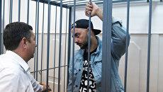 Режиссер Кирилл Серебренников на заседании Басманного суда в Москве. Архивное фото
