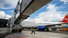Самолет Boeing 737 авиакомпании Nordwind Airlines. Архивное фото