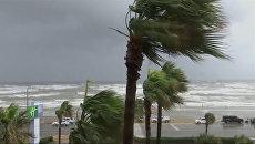 Второй после Катрины: ураган Харви в Техасе с земли и из космоса