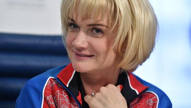 Двукратная олимпийская чемпионка по спортивной гимнастике, первый заместитель начальника ЦСКА Светлана Хоркина
