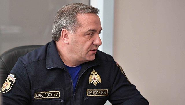 """Пучков поручил жестко контролировать соцвыплаты """"боевым"""" подразделениям МЧС"""