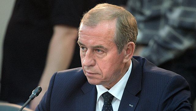 Губернатор Иркутской области Сергей Левченко. Архивное фото