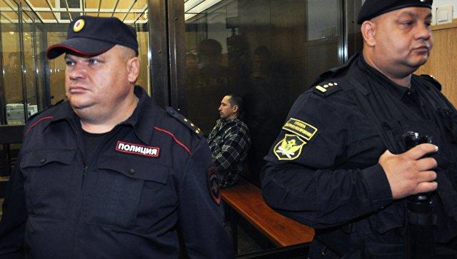 Сергей Егоров в зале Тверского областного суда