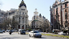 Страны мира. Испания. Мадрид. Архивное фото